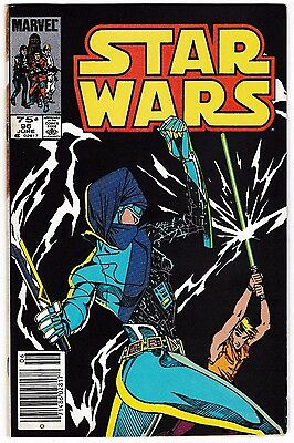 STAR WARS #96 (FN/VF) Canadian Price Variant! Luke Skywalker Cover Story! 1985