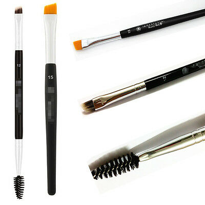 Pinceau Double Sided Maquillage Sourcils terminé Wand Brow Shaping Brush Brosse