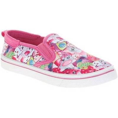 Shopkins Girls Pink Shoes Size 12 13 1 2 3 New!