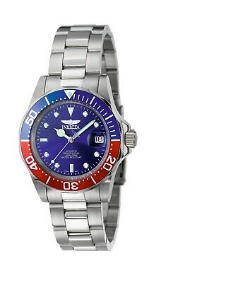 Invicta Men's Watch Pro Diver Blue Dial Automatic Stainless Steel Bracelet 5053