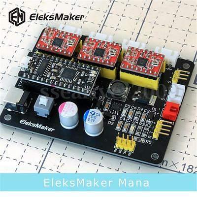 3 Axis Stepper Motor Controller Motherboard Driver Board For DIY Laser Engraver