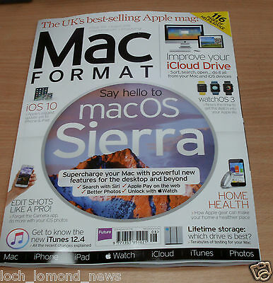 Mac Format magazine #302 AUG 2016 macOS Sierra, Improve iCould, Home Health &