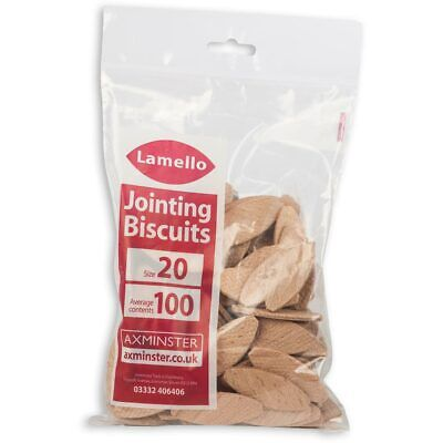 Lamello Biscuits - Size 20 (Box 100)