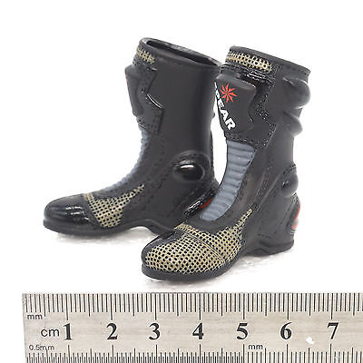 TOYS X03-06 1//6 Scale HOT Male Black Boots hollow