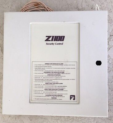 Moose Z1100 Security Alarm System Control Panel Home House