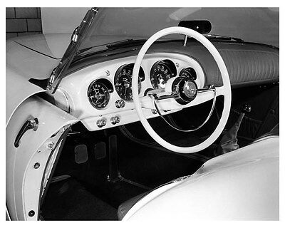 1954 Kaiser Darrin Interior ORIGINAL Factory Photo oub0841