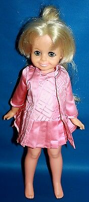 Vintage 1969 Ideal Crissy Doll/growing Hair- Clothes Hand Stitched