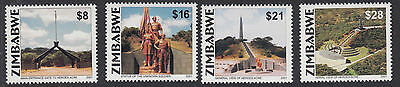ZIMBABWE : 2001 21st Anniversary of Independence set SG 1060-3 NMH