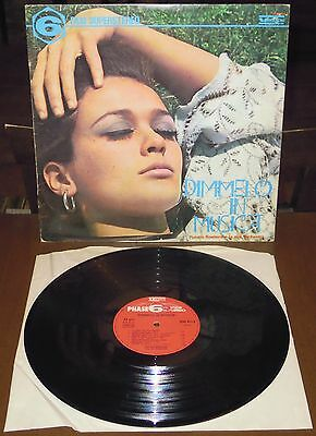 LP PUCCIO ROELENS Dimmelo in musica (Vedette 68/RE 69) lounge jazz library VG