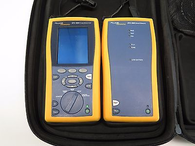 Fluke DTX-1800 Cable Analyzer With Smart Remote & Case