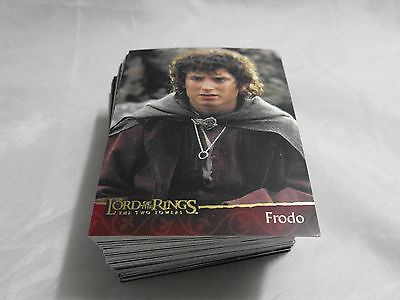 Lord Of The Rings The Two Towers Complete Baisc Set Of 90 Cards