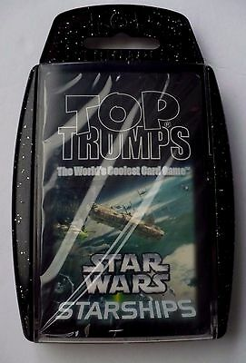 2008 Top Trumps Star Wars Starships Card Game New Cards Sealed