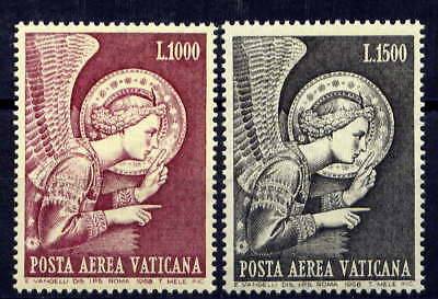 VATICAN Sc#C53-4 1968 Archangel Gabriel by Fra Angelico MNH