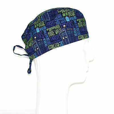 Doctor Who Packed Tardis Theme Scrub Hat