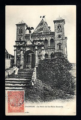 15106-MADAGASCAR-OLD POSTCARD TAMATAVE.1906.FRENCH colonies.AFRIQUE.
