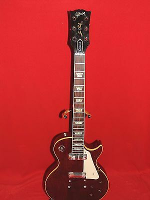 Gibson 1980 Wine Red Les Paul Deluxe Body & Neck