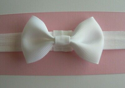 "Assorted Colours Available Newborn/Baby/Toddler/Girl Headband/2.5"" Grosgrain Bow"