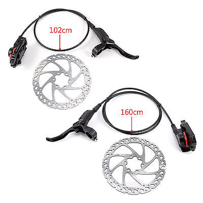 2017 MOUNTAIN BIKE HYDRAULIC DISC BRAKES CALIPER BLACK, 160mm ROTORS
