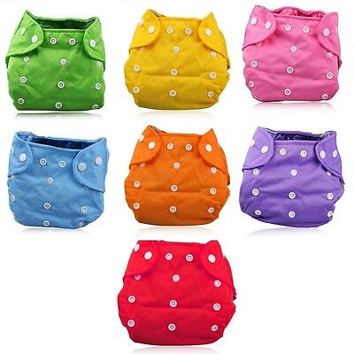 Baby Summer Diaper Adjustable Washable Baby Infant Nappy Soft Thin Diaper