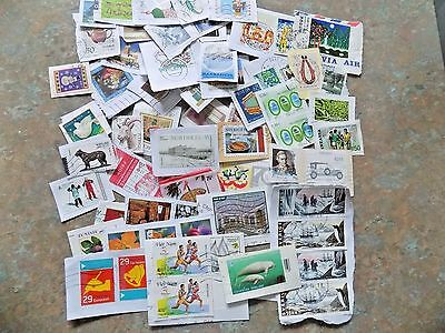 World Commemoratives  600 Plus On Paper Mixture  Includes 2000S Issues Post Free