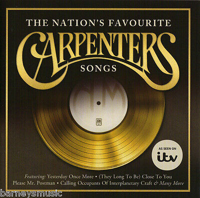 The Carpenters ( New Sealed Cd ) Nation's Favourite Songs Greatest Very Best Of