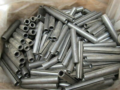 """1/2"""" X 3"""" Spring Slotted Roll Pin Carbon Steel Plain Box Of Approx. 340"""