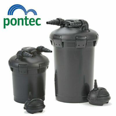 Pontec Pond Filter PondoPress Pressurized Filter Pump & UV Steriliser All in One