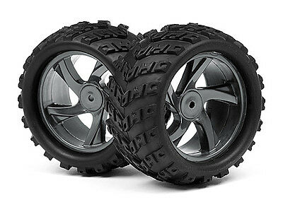 Maverick Ion Mt 1/18 Monster Truck Mv28055 1/18 Monster Truck Wheel & Tyre Assem