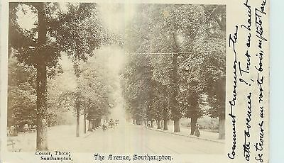 Carte Photo Southampton The Avenue