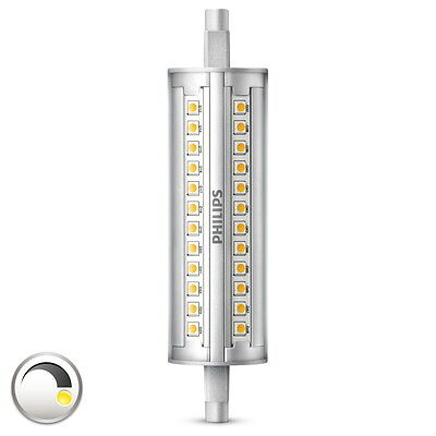 Philips LED Leuchtmittel, dimmbar, R7S, 14 W (100 W), 3000 K, 1500 lm, A+
