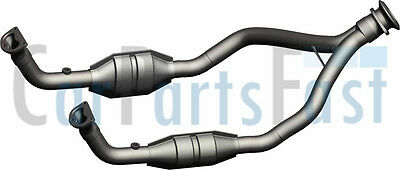 Land Rover Discovery 3.9 V8 Efi CAT Catalytic Converter Emissions Control 93-97