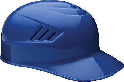 Rawlings Catcher and Base Coach CFPBHM-MR-90 L 7 3/8-7 1/2 Royal Batting Helmet
