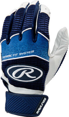 Rawlings Workhorse WH950BG-N-89 Navy M Batting Gloves