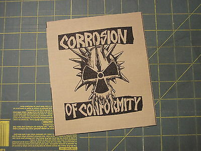 Corrosion Of Conformity Cloth Patch Crowbar Down Clutch Suicidal Tendencies Bot