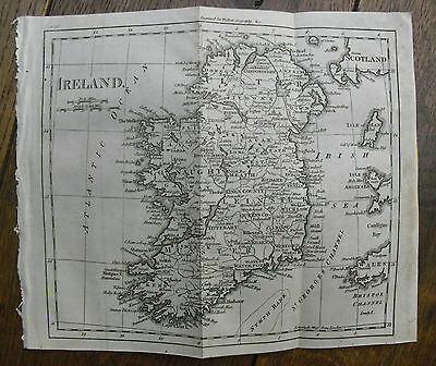 c1800, Ireland, Engraved by William Darton, Antique Map