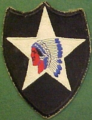 WW2 2nd Infantry Division Patch