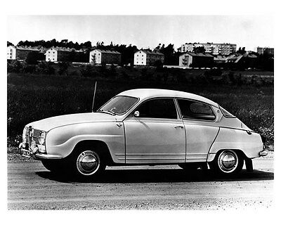 1967 Saab 5 Passenger Luxury Sedan ORIGINAL Factory Photo oub1799