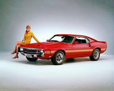 1968 1/2 Ford Mustang Shelby GT500 ORIGINAL Factory Photo Transparency ww7327