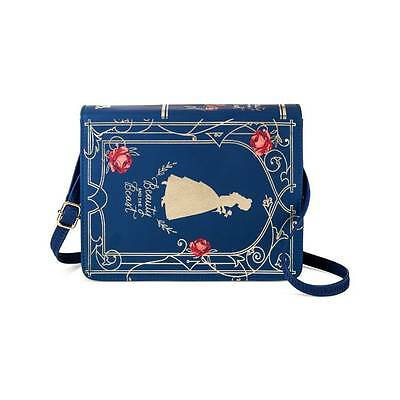 Disney Beauty And The Beast Book Purse New!
