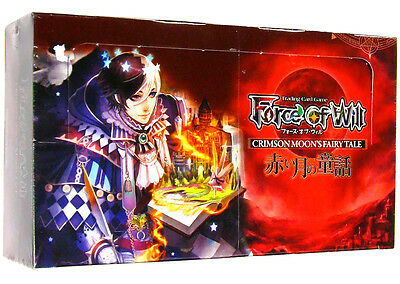 FoW Force of Will - Crimson Moon's Fairy Tale CMF - English Complete set
