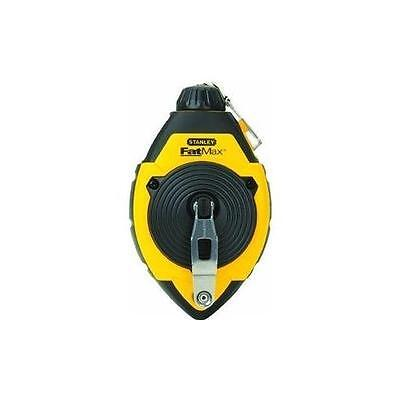 Stanley 47-140 100-Foot FatMax Chalk Line Reel New