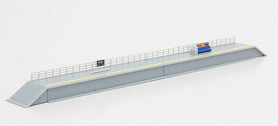 Rokuhan S048-1 Z Scale One-Sided Platform Set (1/220 Z Scale)