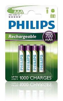 Philips Multilife Batterie Nimh Aaa 700 Mah 4-Pack