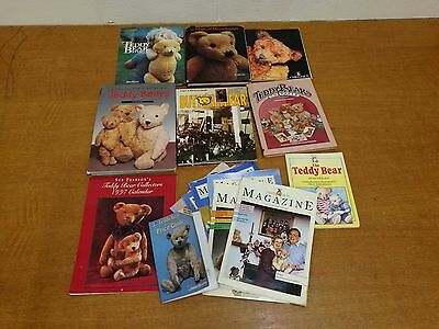 Vintage Bear Books Job Lot. Button in Ear & The magic of Merrythought and more
