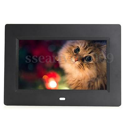 7'' LCD Digital Photo Frame Picture Video Audio MP3 Player with Remote Control