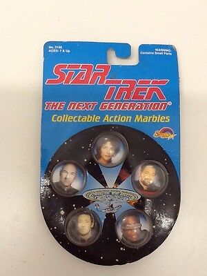 Star Trek The next Generation Collectable Action Marbles 1993 Unopened