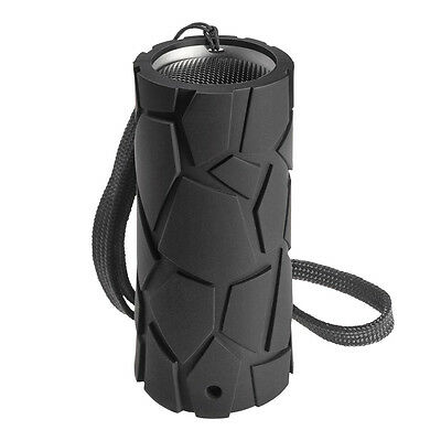 Cobra AirWave Mini Rugged Waterproof Wireless Bluetooth Speaker w/ Speakerphone