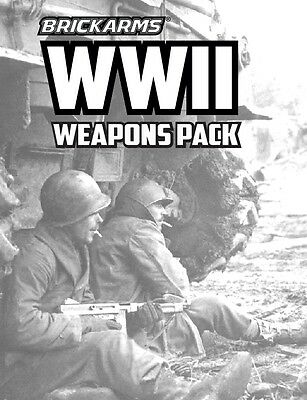 Brickarms WWII Weapons Pack - Can be used with Lego BNIP