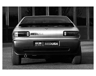 1980 Lancia Medusa Concept ORIGINAL Factory Photo oub1845