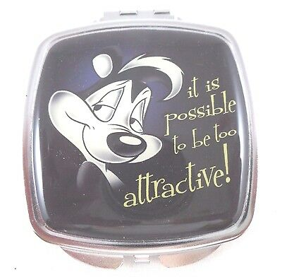 "wb Pepe Le Pew 3"" Mirror NEw 2 Way Warner Brothers Looney Tunes Bros Attractive"